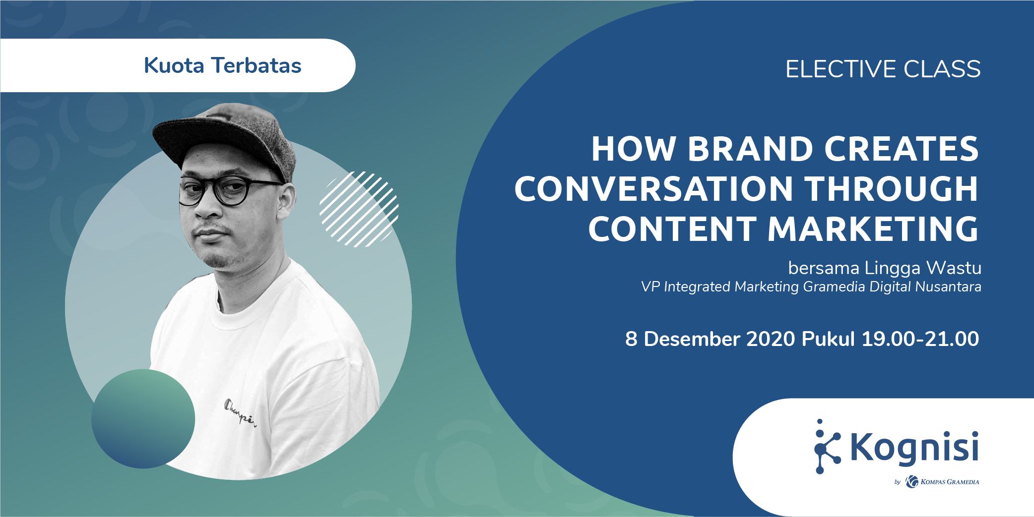 Gambar event How Brand Creates Conversation through Content Marketing dari Kognisi Kompas Gramedia