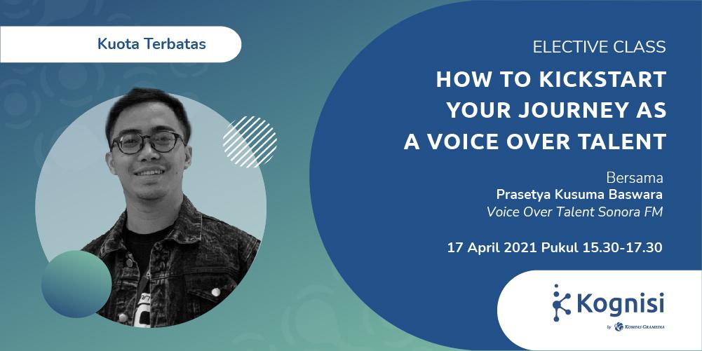 Gambar event How to Kickstart Your Journey as a Voice Over Talent dari Kognisi Kompas Gramedia