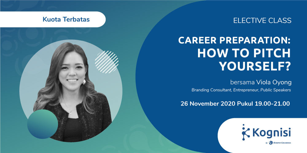 Gambar event Career Preparation: How to Pitch Yourself? dari Kognisi Kompas Gramedia